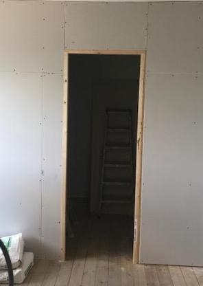 en suite new door