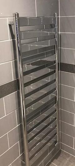 en suite towel rail