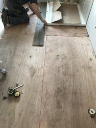 Image installing flooring