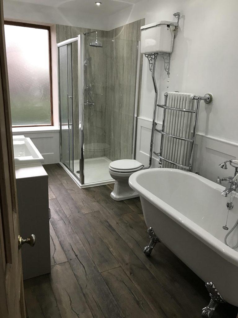 Photo vintage bathroom