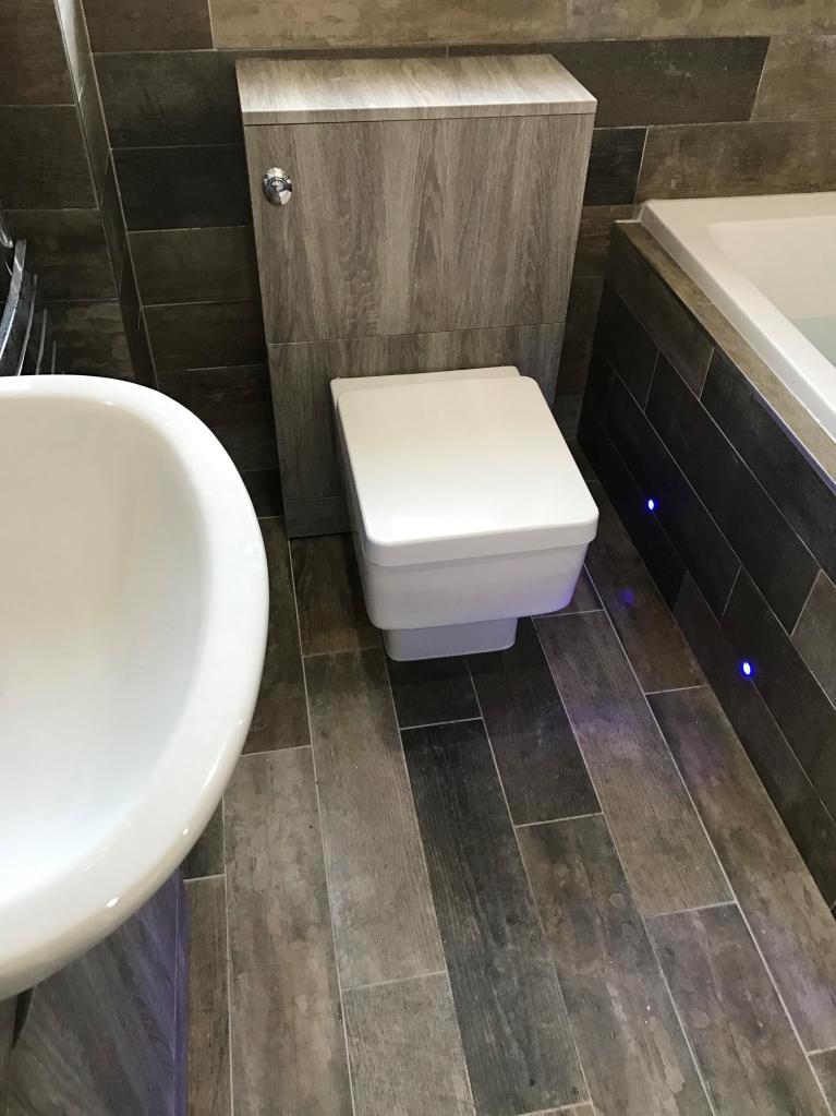image modern bathroom mood lighting